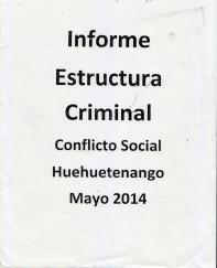 Investigación Hidro Santa Cruz para el MP
